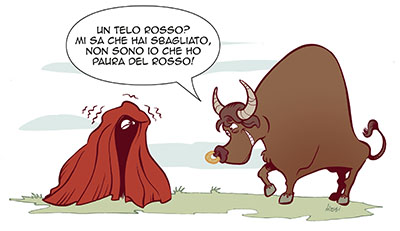 vignetta toro