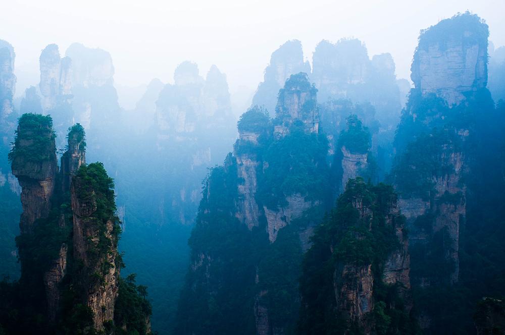 Parco Nazionale di Zhangjiajie