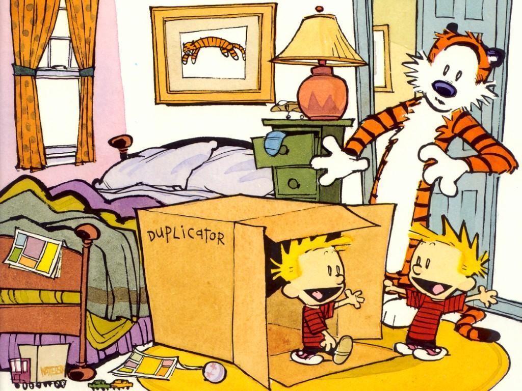 Calvin & Hobbes (© degli aventi diritto)