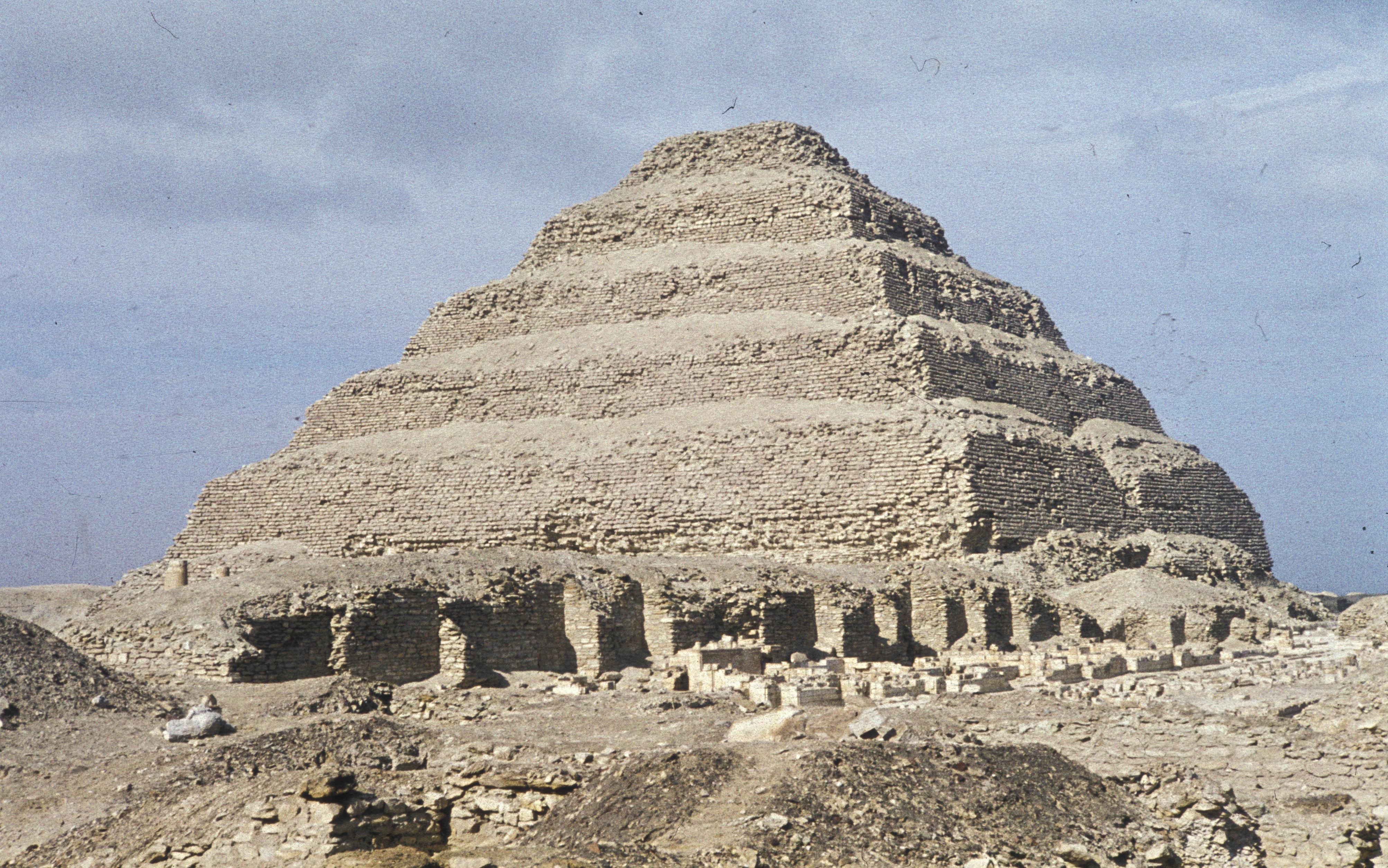 La Piramide di Saqqara