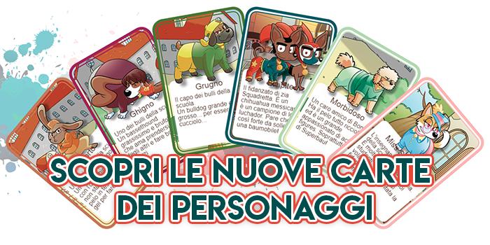 Nuove Carte Personaggi