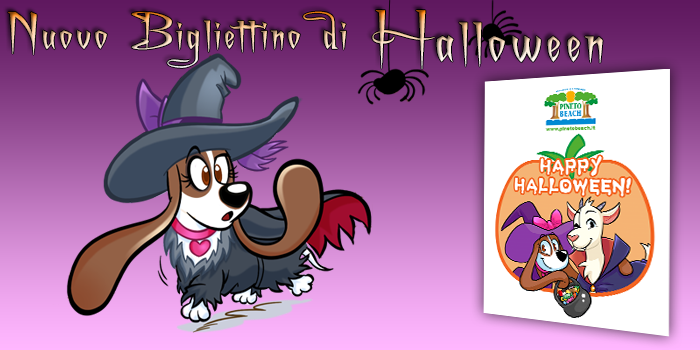 Nuovo Bigliettino di Halloween