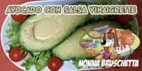 AVOCADO con salsa VINAIGRETTE